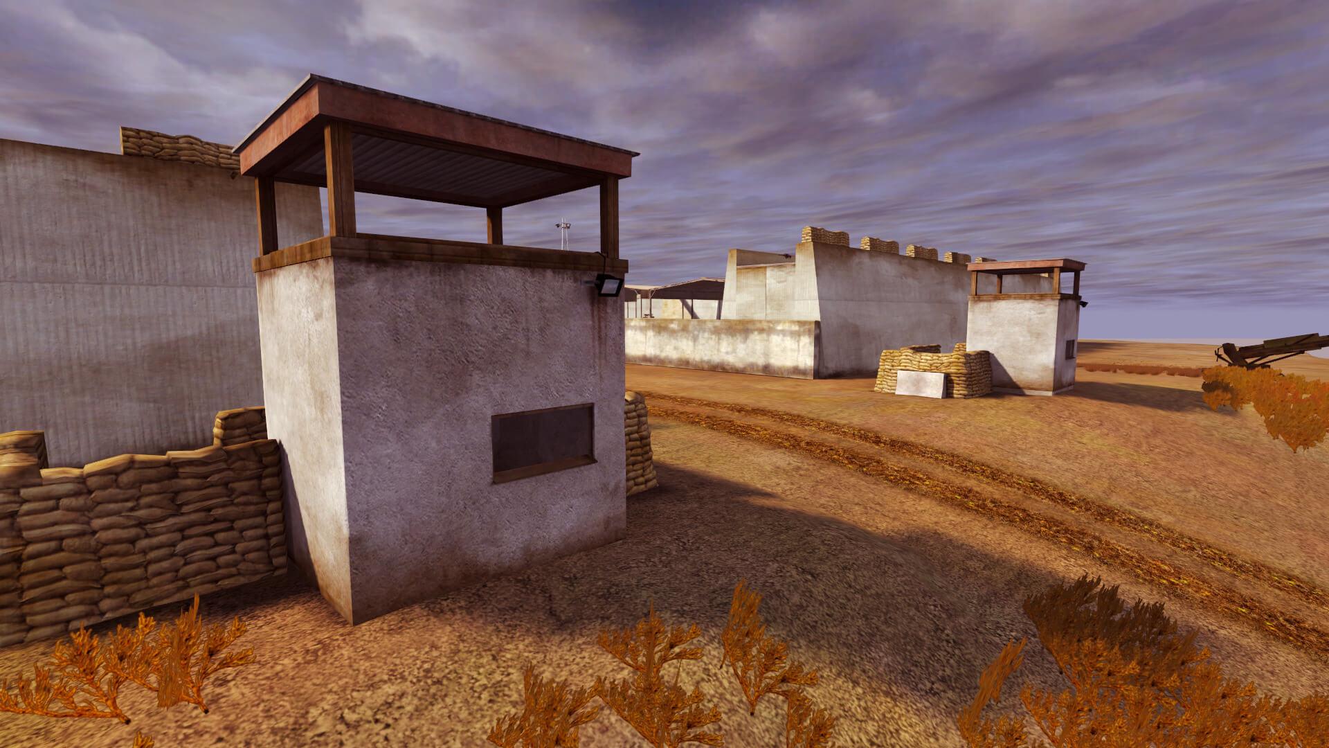 NWM Desert Fort